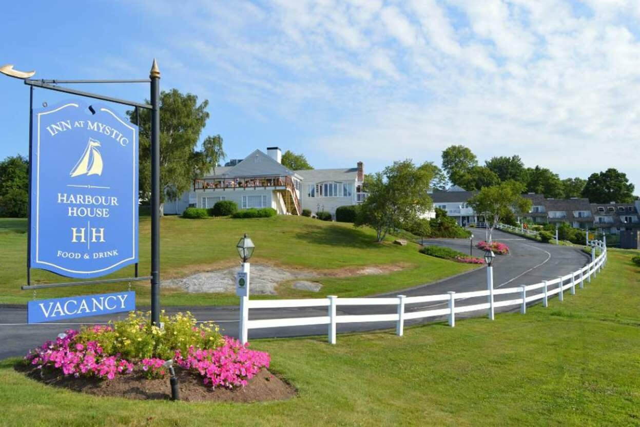 Inn at Mystic and Haley Mansion is the Best Wedding Venue and Hotel to Have Your Wedding Party and Guests Stay for Your Mystic CT Wedding